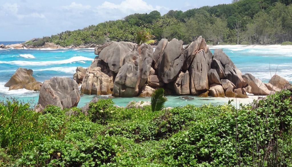 Пляж Анс Кокос на Сейшелах, фото 15