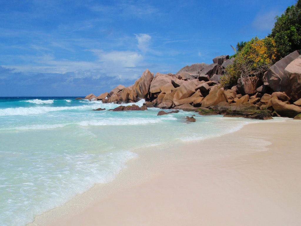 Пляж Анс Кокос на Сейшелах, фото 16
