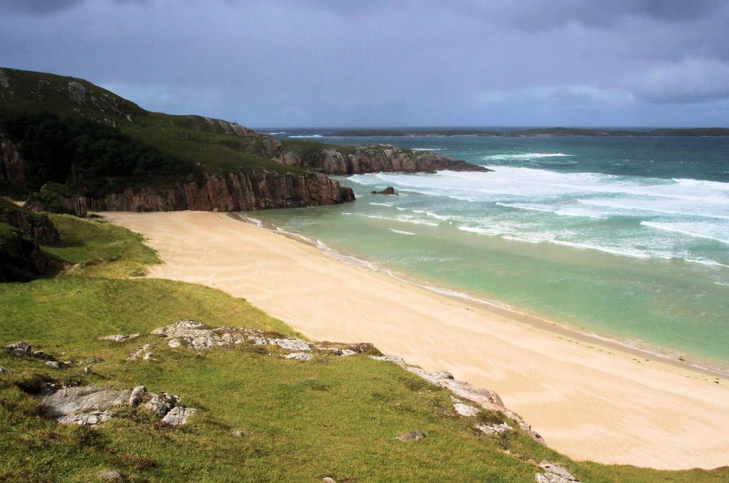 Пляж Балнакейл Бэй в Великобритании, фото 8