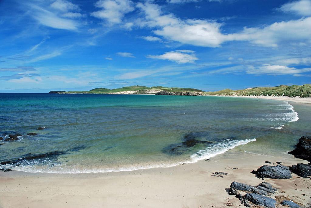 Пляж Балнакейл Бэй в Великобритании, фото 10