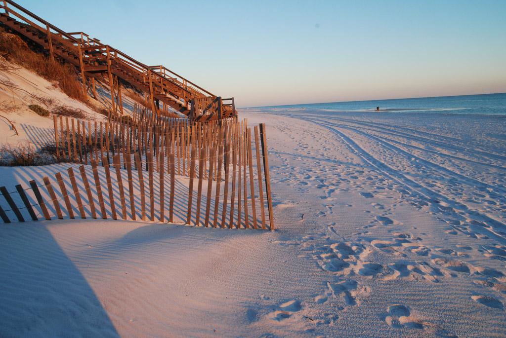 Пляж Блу Маунтин в США, фото 1