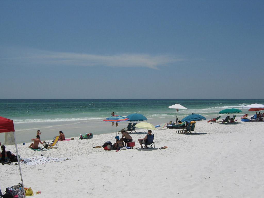 Пляж Блу Маунтин в США, фото 2