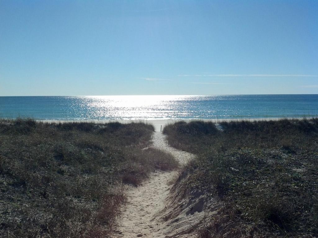 Пляж Блу Маунтин в США, фото 5
