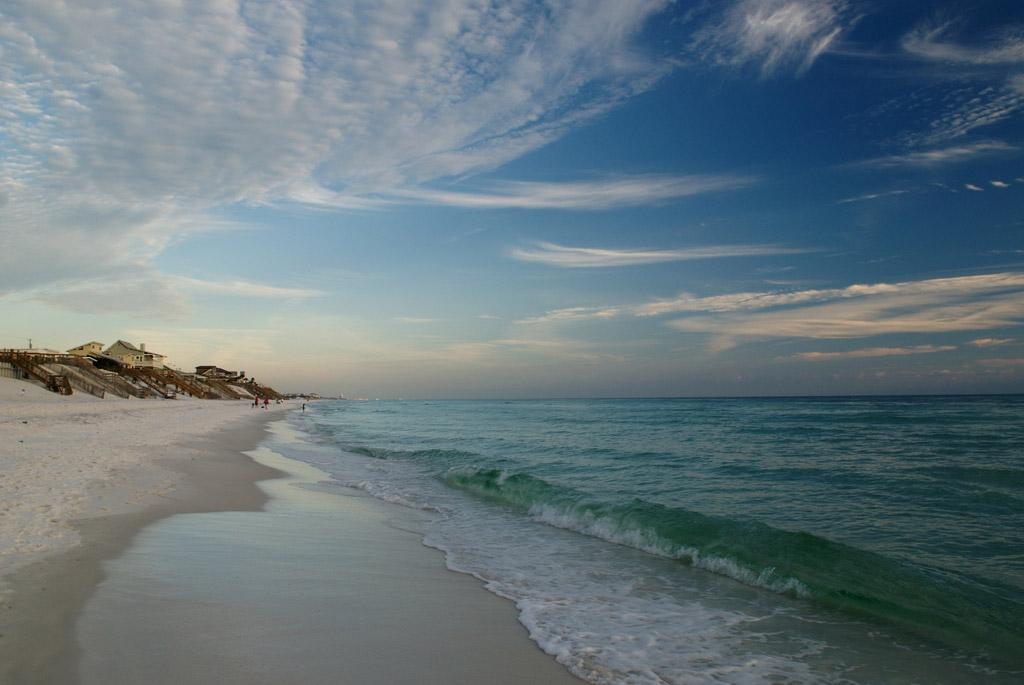 Пляж Блу Маунтин в США, фото 6