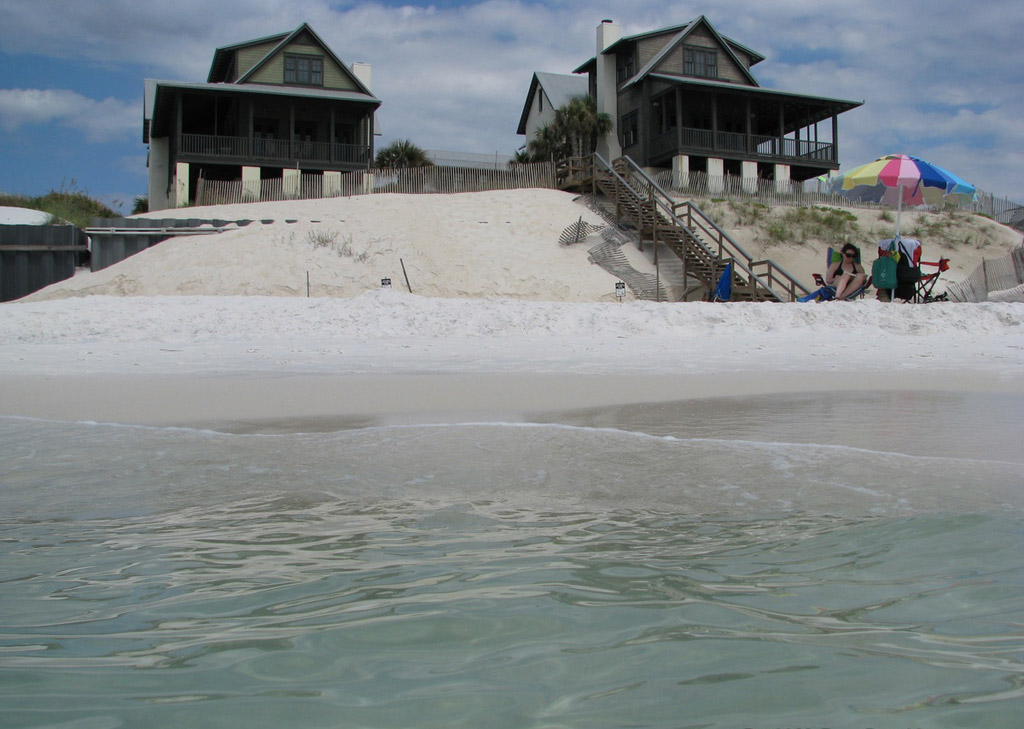 Пляж Блу Маунтин в США, фото 7