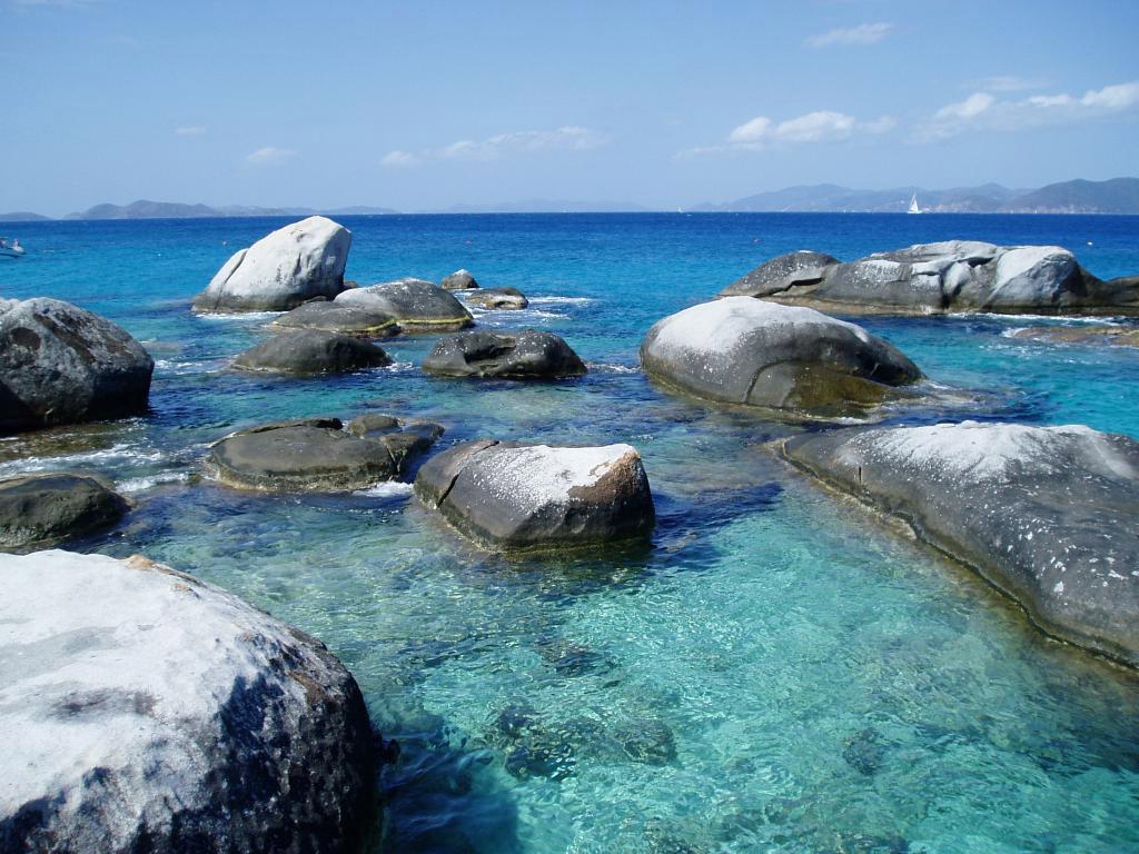 Пляж Дип Бэй на Британских Виргинских Островах, фото 4