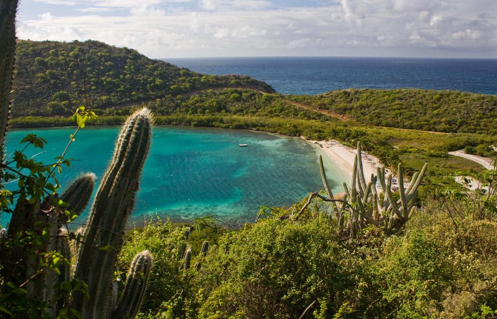 Пляж Дип Бэй на Британских Виргинских Островах, фото 7