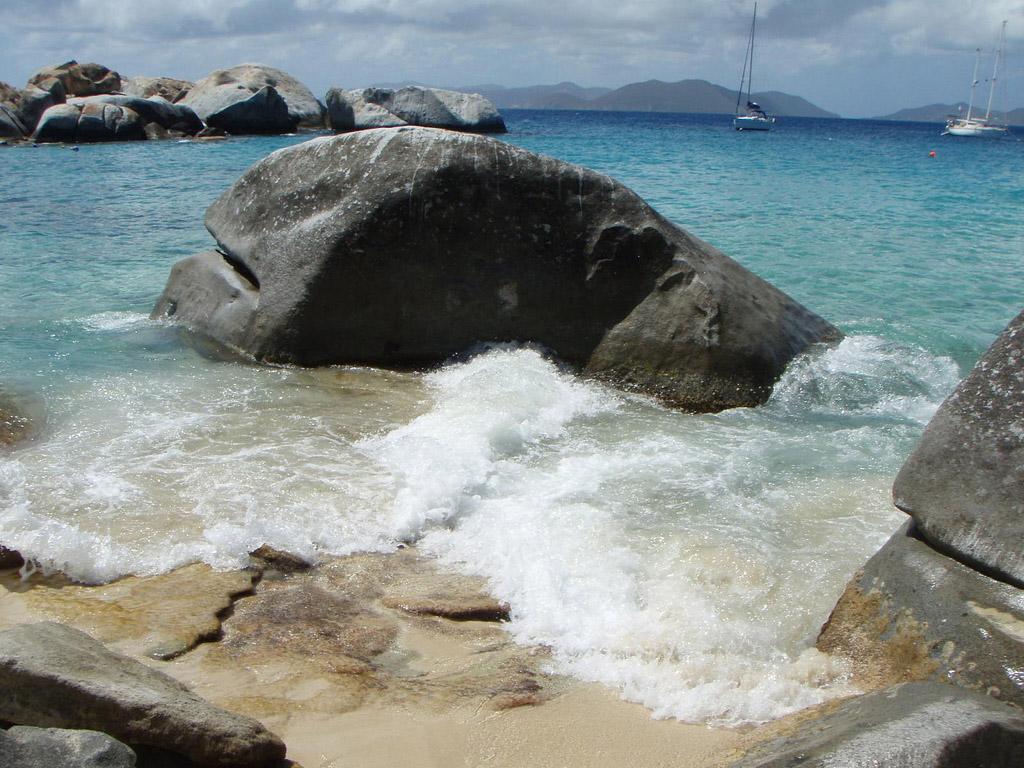 Пляж Дип Бэй на Британских Виргинских Островах, фото 12