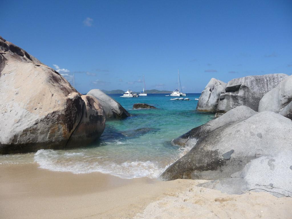 Пляж Дип Бэй на Британских Виргинских Островах, фото 13