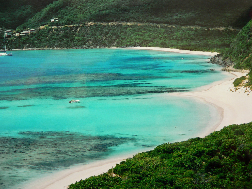 Пляж Дип Бэй на Британских Виргинских Островах, фото 15