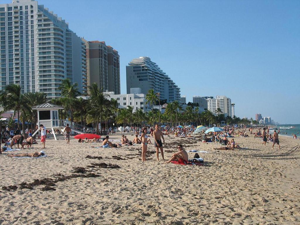 Пляж Форт-Лодердейл в США, фото 1