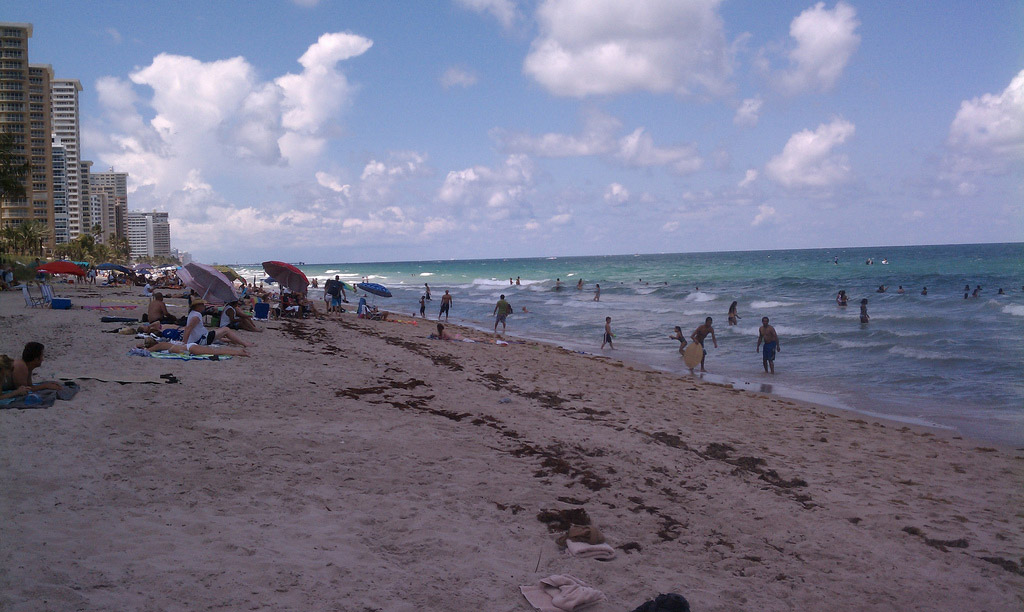 Пляж Форт-Лодердейл в США, фото 5