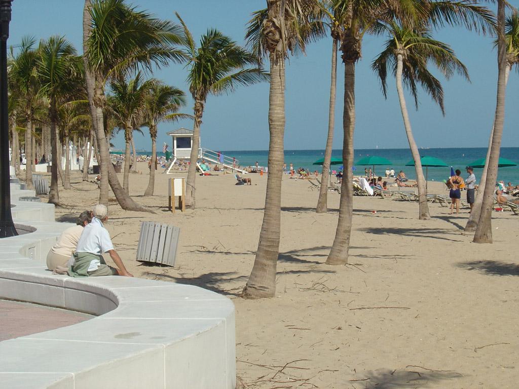Пляж Форт-Лодердейл в США, фото 6
