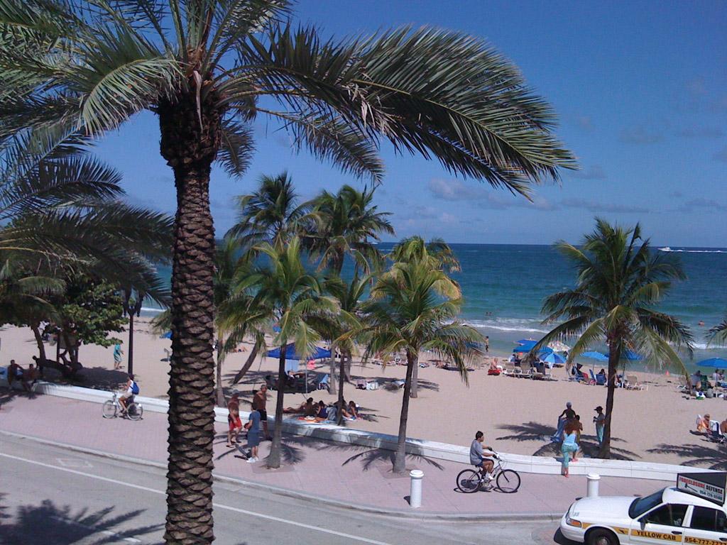 Пляж Форт-Лодердейл в США, фото 7