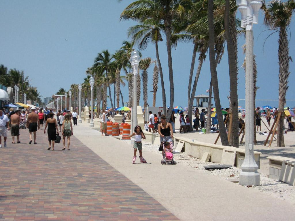Пляж Форт-Лодердейл в США, фото 12