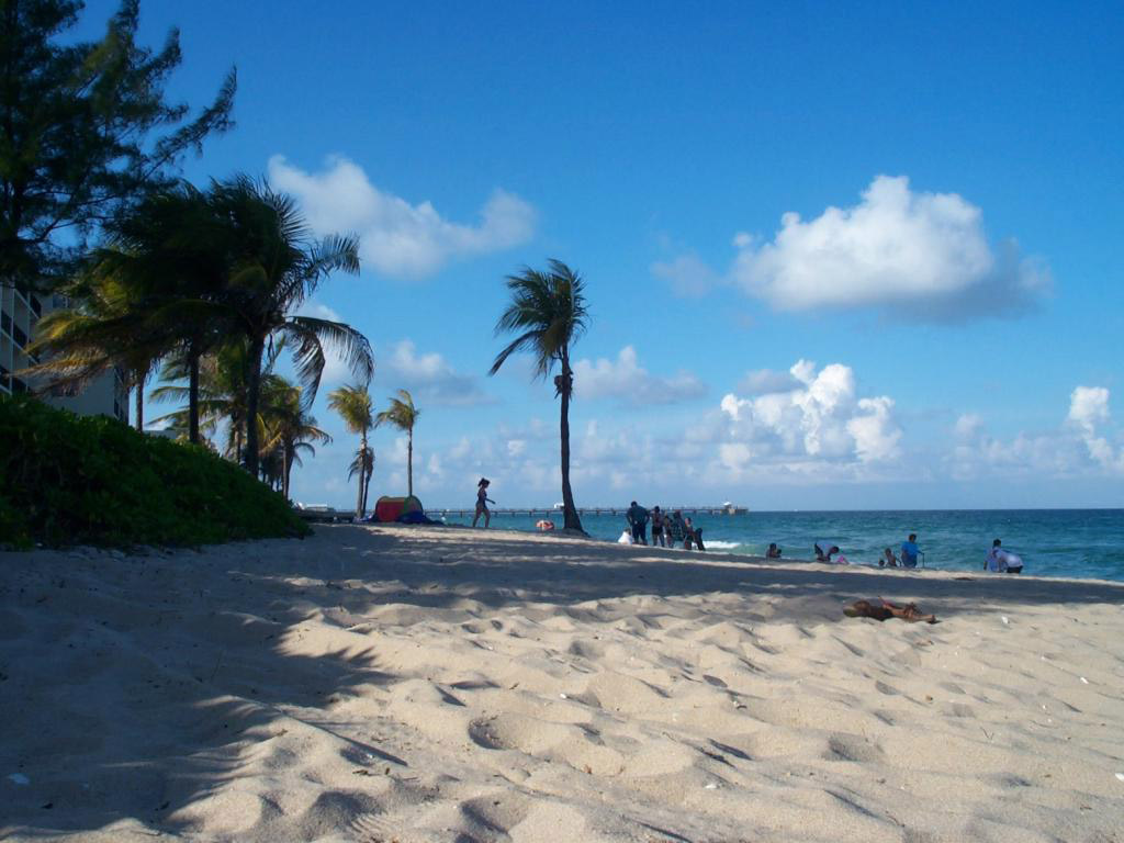Пляж Форт-Лодердейл в США, фото 13