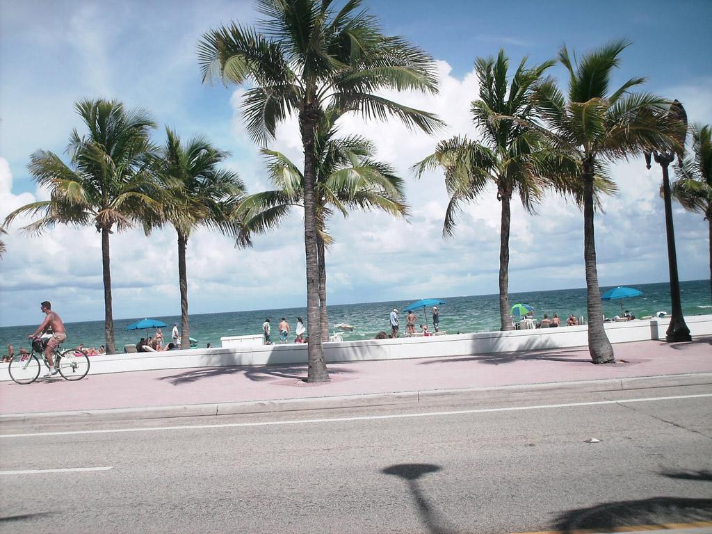 Пляж Форт-Лодердейл в США, фото 14