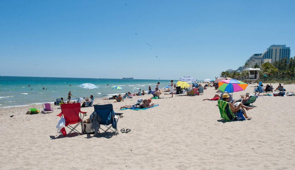 Пляж Форт-Лодердейл в США, фото 16