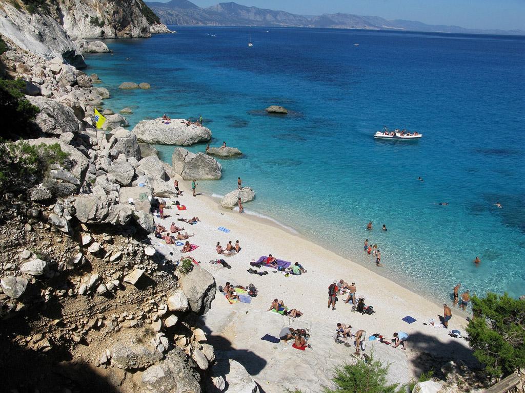 Пляж Голорице в Италии, фото 7