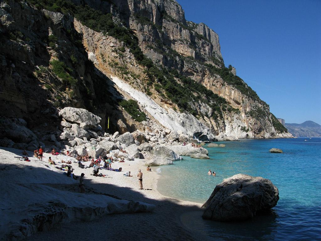Пляж Голорице в Италии, фото 8