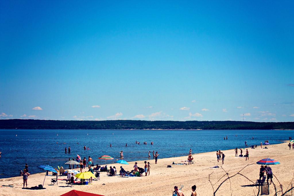 Пляж Гранд Бич в Канаде, фото 3