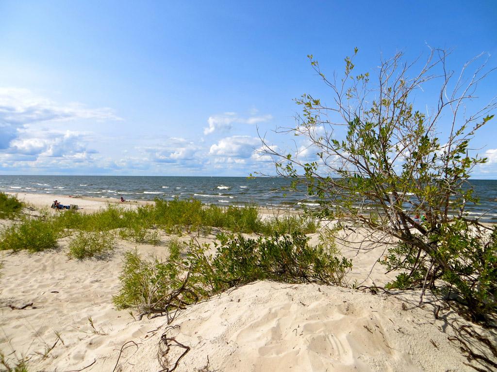 Пляж Гранд Бич в Канаде, фото 11