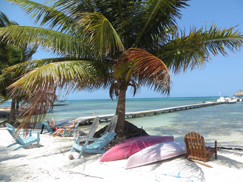 Пляж Кайе-Колкер в Белизе, фото 13