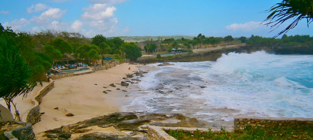 Пляж Нуса-Лембонган в Индонезии, фото 10