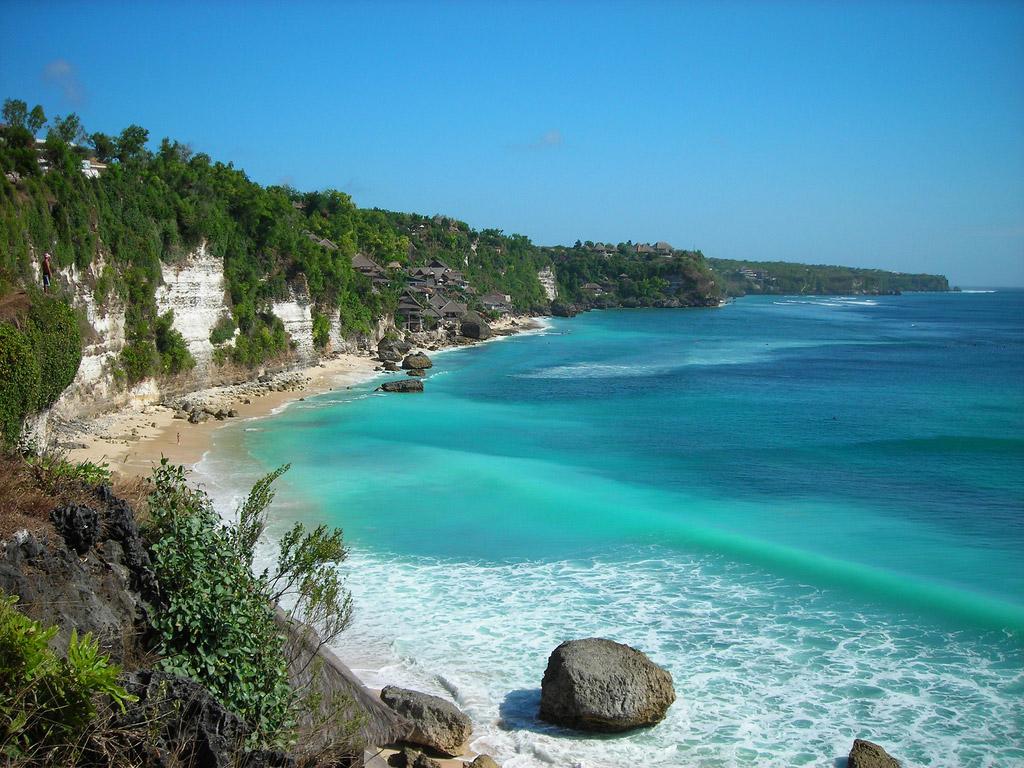 Пляж Нуса-Лембонган в Индонезии, фото 12