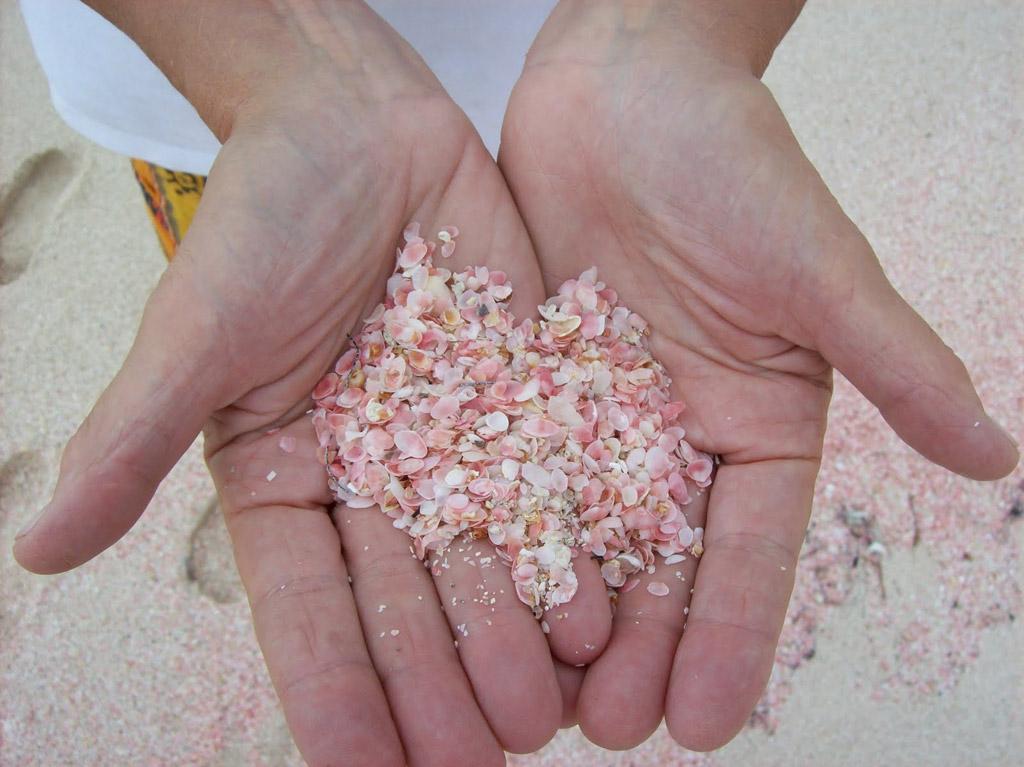 Пляж Пинк Сэндс на Багамских Островах, фото 1