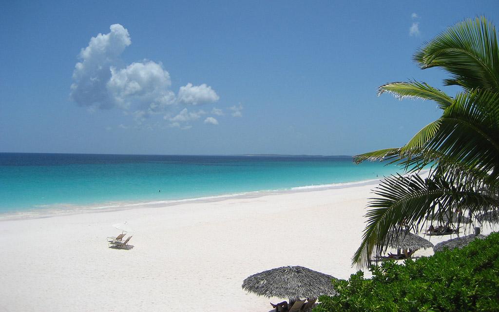 Пляж Пинк Сэндс на Багамских Островах, фото 4