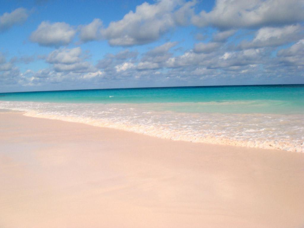 Пляж Пинк Сэндс на Багамских Островах, фото 8