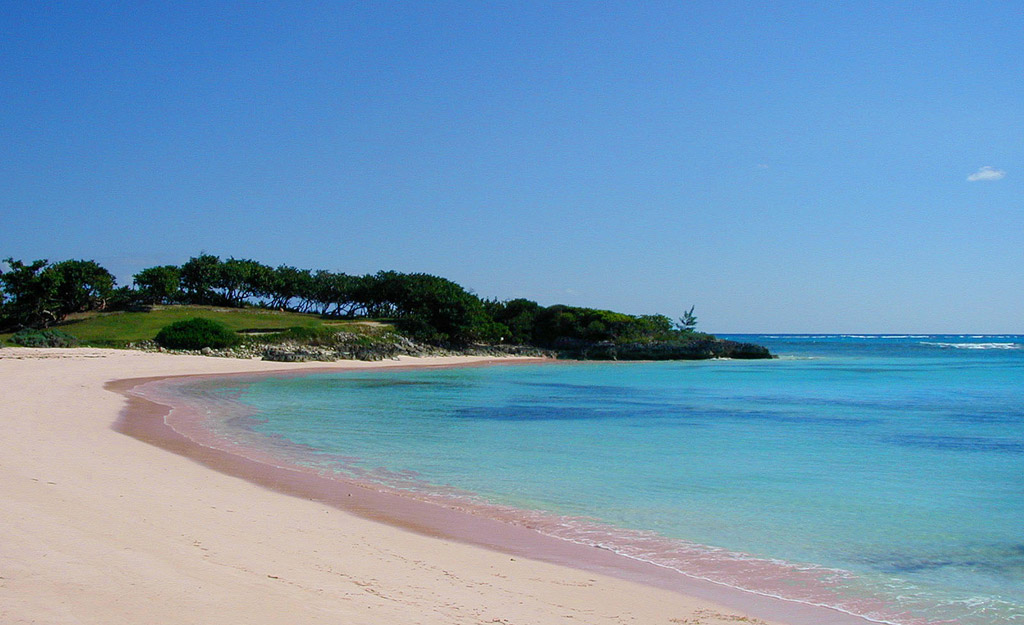 Пляж Пинк Сэндс на Багамских Островах, фото 11