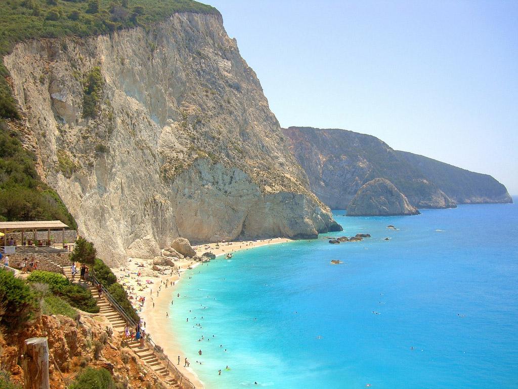 Пляж Порто Катсики в Греции, фото 1