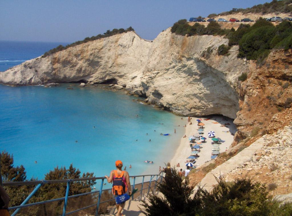 Пляж Порто Катсики в Греции, фото 9