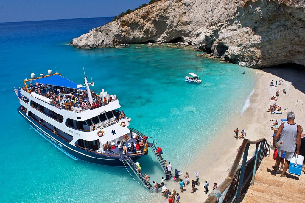 Пляж Порто Катсики в Греции, фото 11