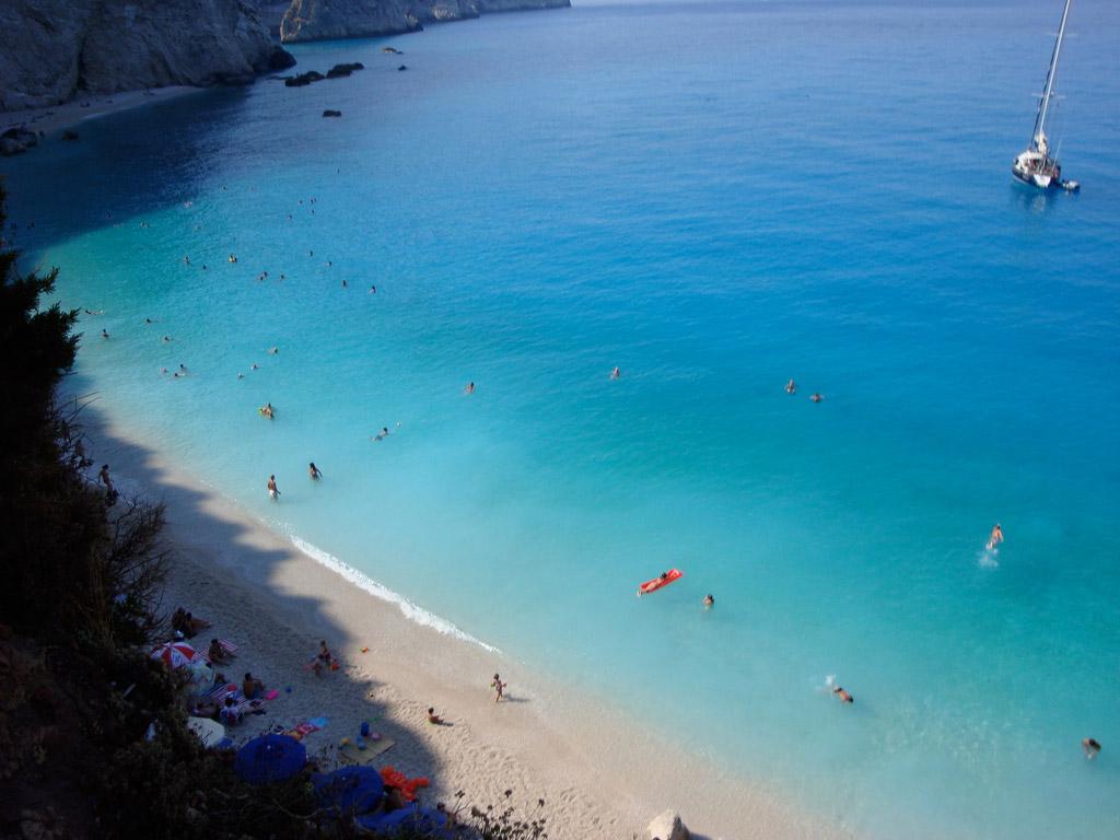 Пляж Порто Катсики в Греции, фото 15