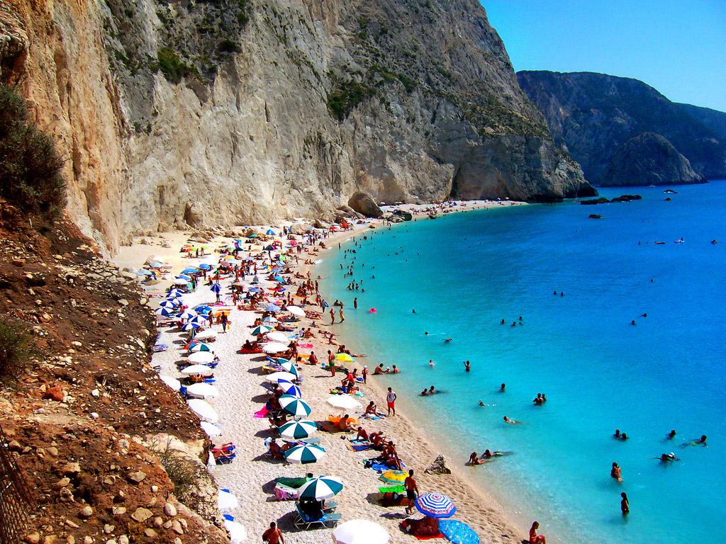 Пляж Порто Катсики в Греции, фото 16