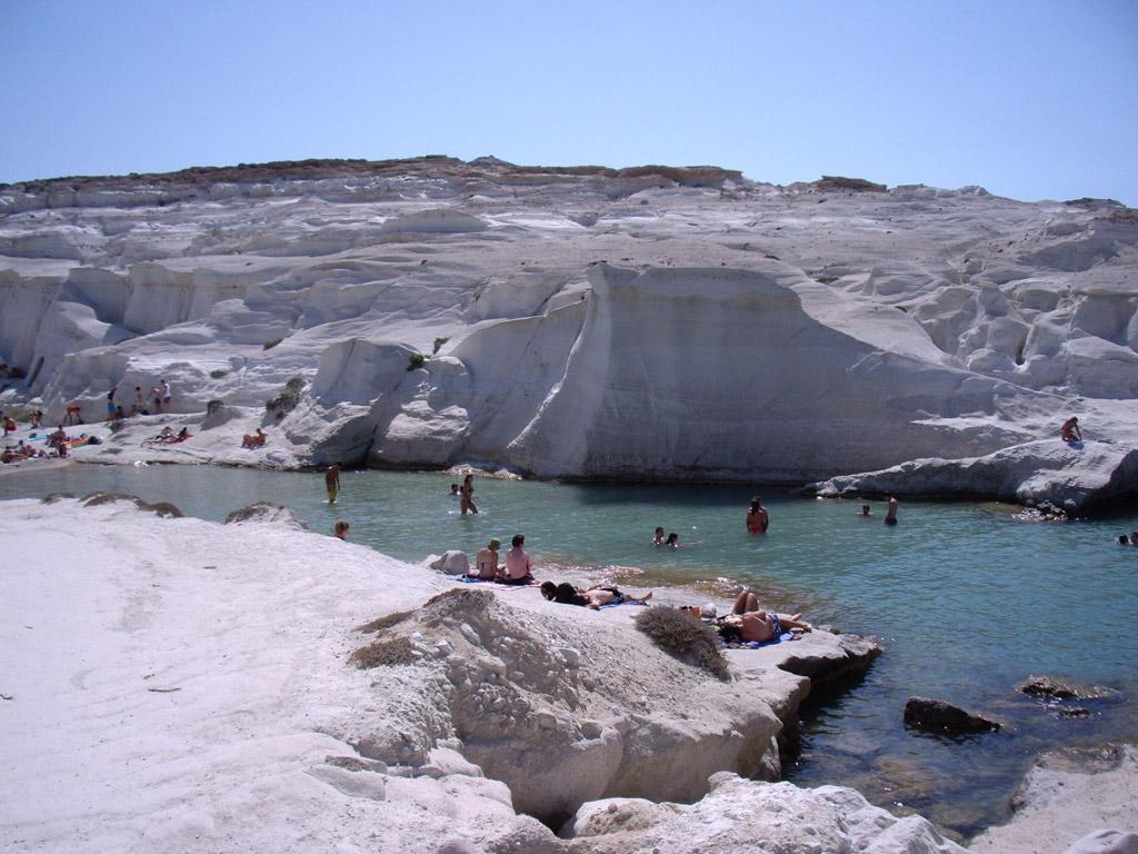 Пляж Саракинико в Греции, фото 1