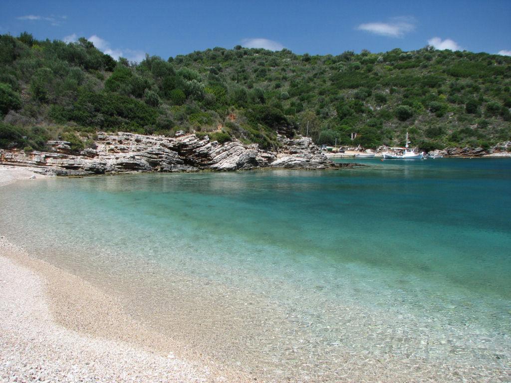 Пляж Саракинико в Греции, фото 4