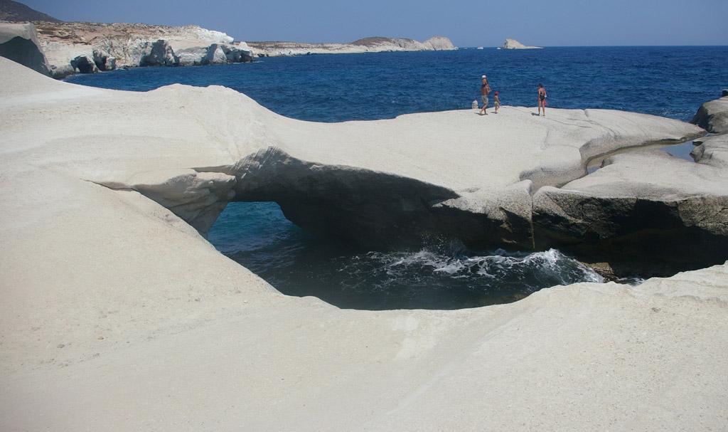 Пляж Саракинико в Греции, фото 5
