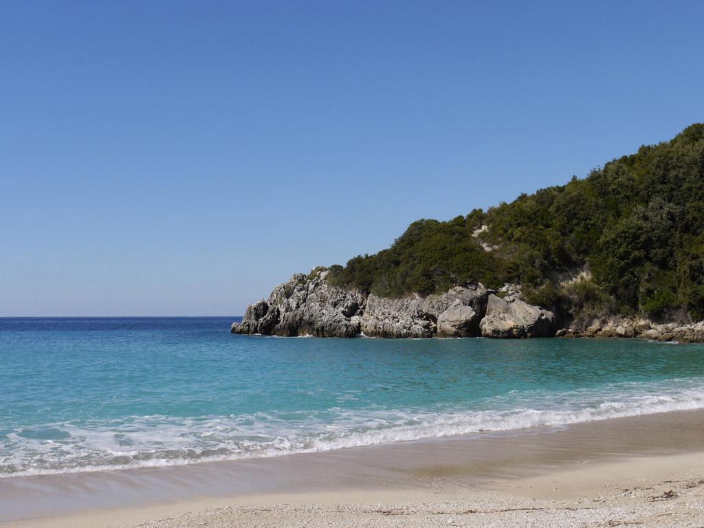 Пляж Саракинико в Греции, фото 6
