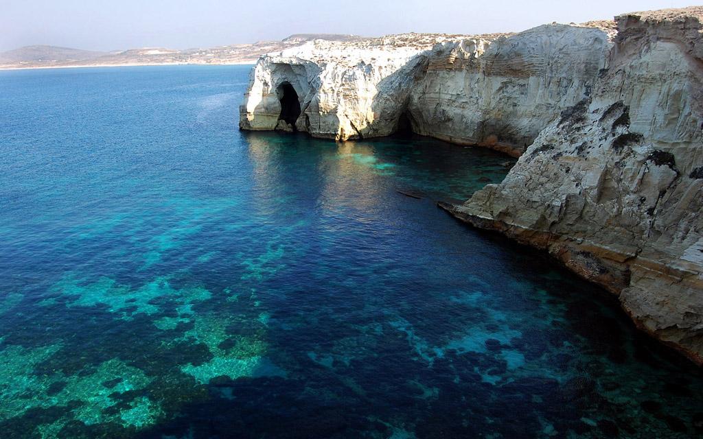 Пляж Саракинико в Греции, фото 10