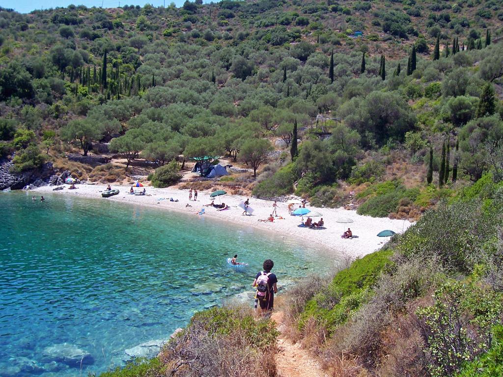 Пляж Саракинико в Греции, фото 11