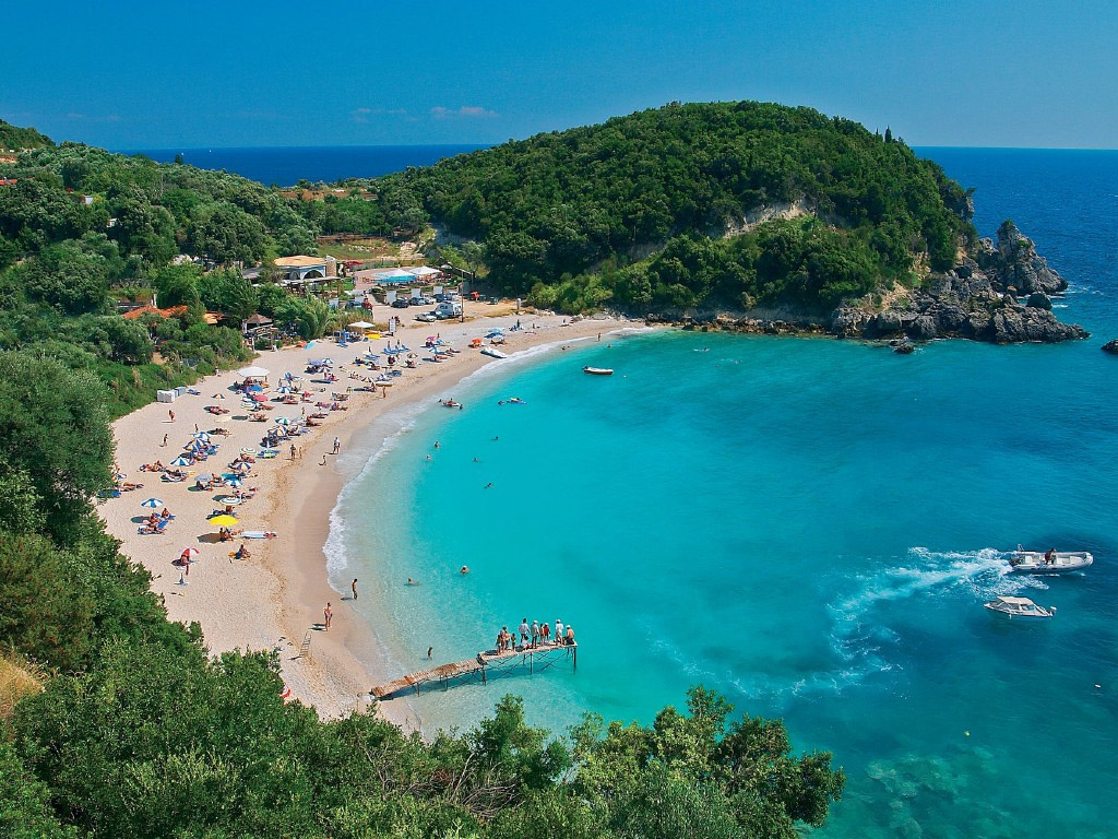 Пляж Саракинико в Греции, фото 13