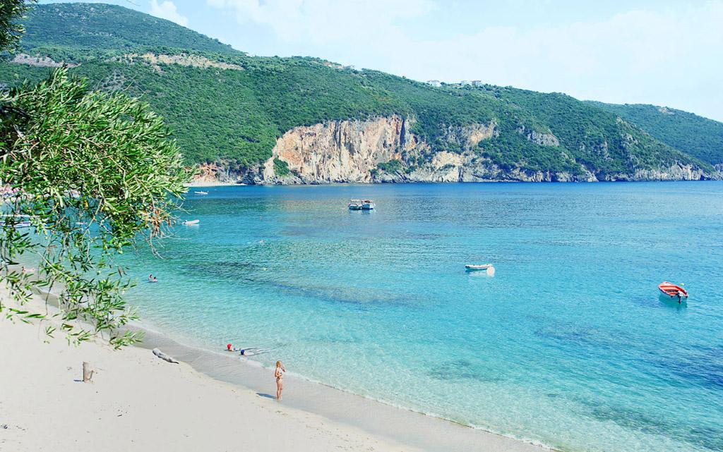 Пляж Саракинико в Греции, фото 14