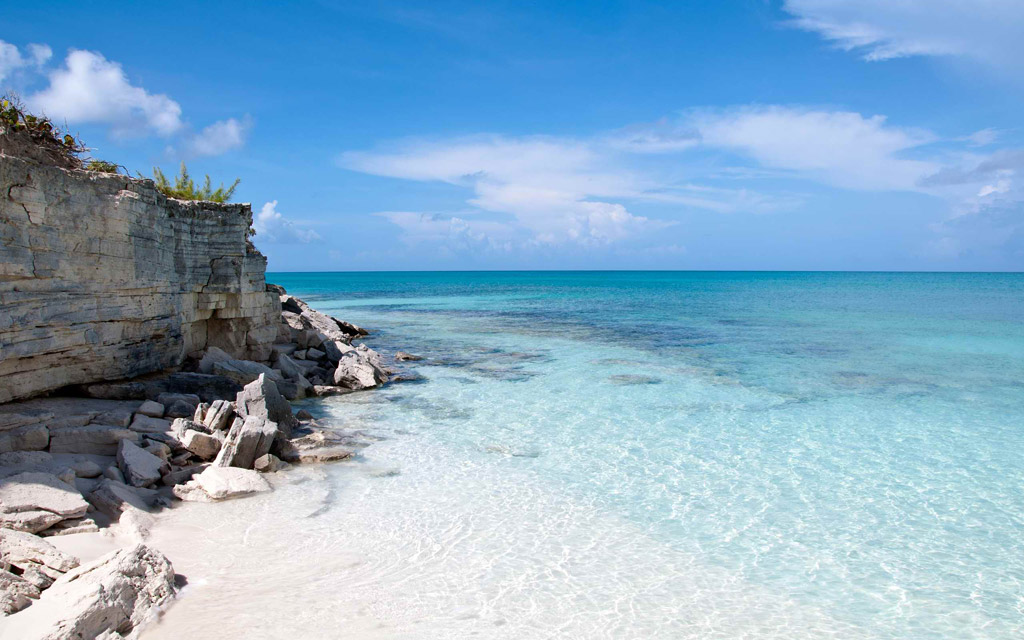 Пляж Теркс и Кайкос на Карибских Островах, фото 1