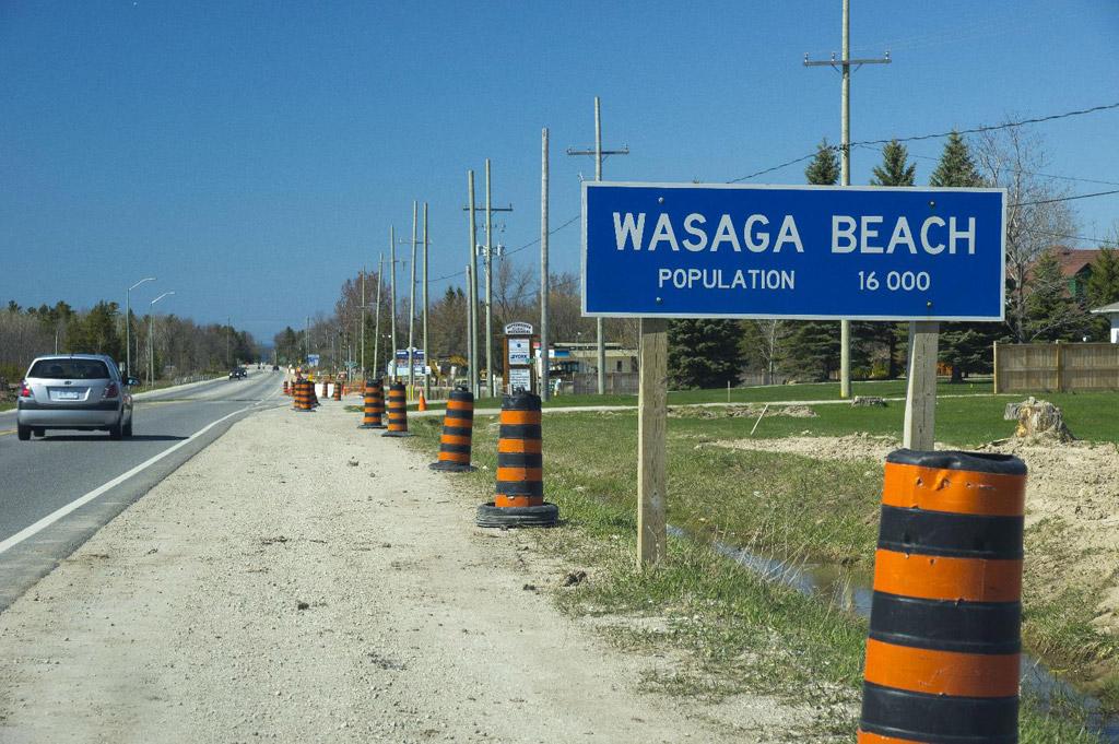 Пляж Васага в Канаде, фото 1