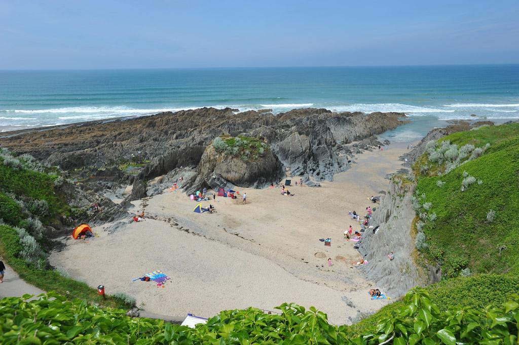 Пляж Вулакомб в Великобритании, фото 1
