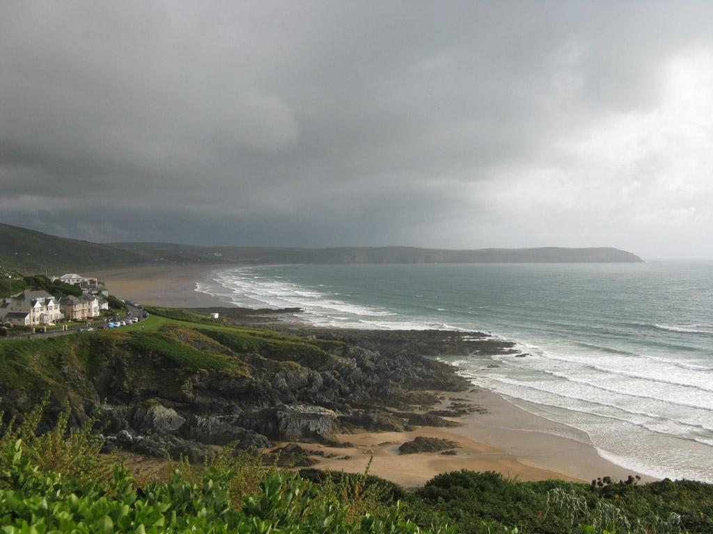Пляж Вулакомб в Великобритании, фото 3